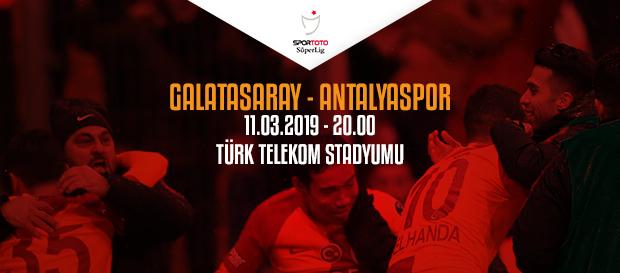 Maça doğru | Galatasaray – Antalyaspor