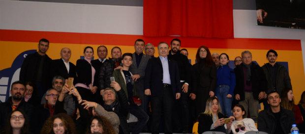 Başkanımız Mustafa Cengiz Akhisar karşılaşmasını Taçspor Tesisleri'nde takip etti