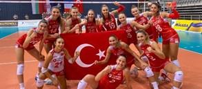 U19 Genç Kız Milli Takımımız Avrupa Voleybol Şampiyonası'nda Finalde