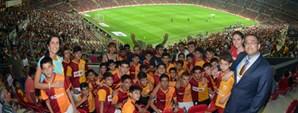 Nusaybin Futbol Okulu Öğrencileri Türk Telekom Arena'daydı