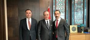 Başkanımız Mustafa Cengiz'den Emlak Konut Genel Müdürü Hakan Gedikli'ye Ziyaret
