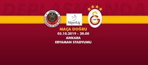Maça doğru   Gençlerbirliği – Galatasaray