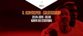Maça doğru | Atiker Konyaspor – Galatasaray