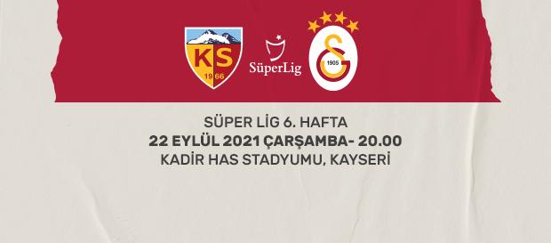 Maça Doğru   Kayserispor - Galatasaray