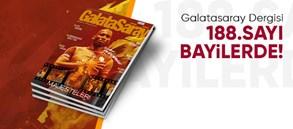 Galatasaray Dergisi'nin 188. sayısı raflardaki yerini aldı