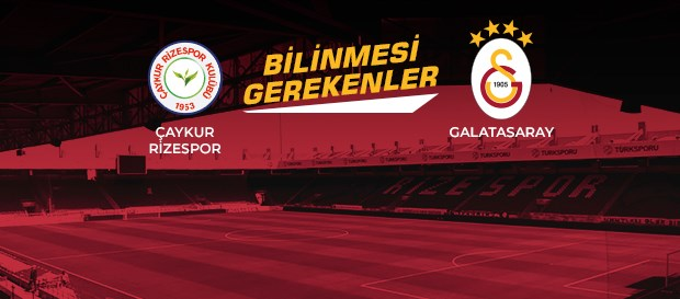 Opta Facts | Çaykur Rizespor - Galatasaray
