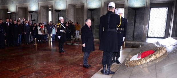 Başkanımız Mustafa Cengiz ve Yönetim Kurulumuz Anıtkabir'i Ziyaret Etti