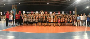 Voleybolda 2019 Küçükler Kategorisi Altyapı Türkiye Şampiyonası sona erdi
