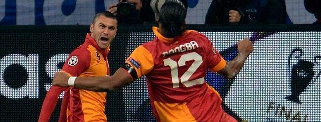 UEFA Haftanın Takımı'nda Üç Galatasaraylı