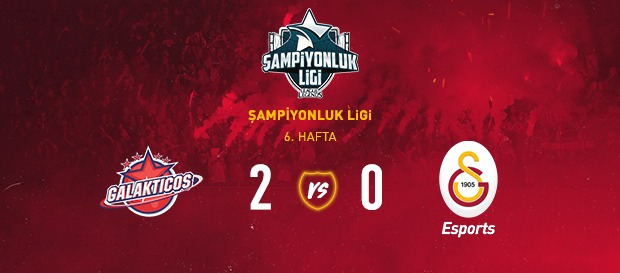 Team Galakticos 2-0 Galatasaray Esports