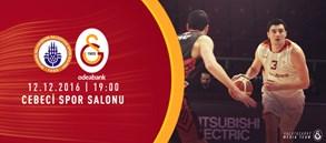 Maça doğru | İstanbul BBSK – Galatasaray Odeabank