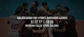 Maça doğru | Galatasaray HDI Sigorta - Fonte Bastardo Azores
