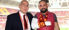 Trabzonspor maçında özel misafirler