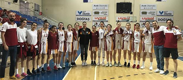 Galatasaray U15 Takımımız Türkiye Şampiyonu Oldu