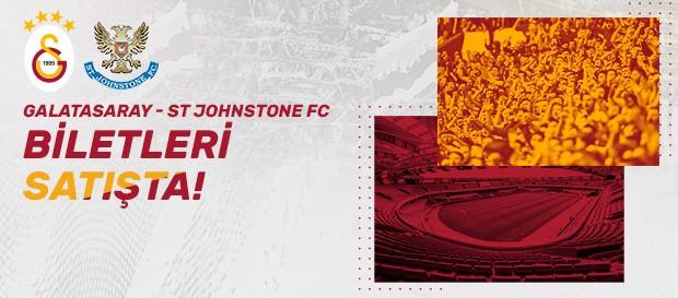 St Johnstone F.C. maçı biletleri satışta!