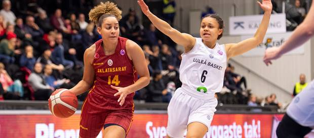 Lulea Basket 67 - 72 Galatasaray