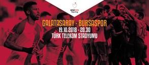 Maça doğru | Galatasaray - Bursaspor