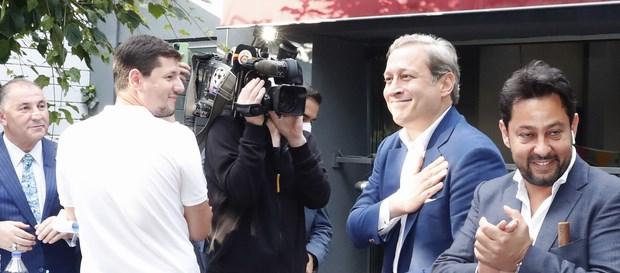 Kutlamalar Galatasaraylılar Derneği'nde devam etti