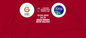Maça doğru | Galatasaray Doğa Sigorta – Tofaş