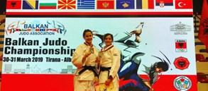 Judocularımızdan Büyükler Balkan Şampiyonası'nda 2 madalya