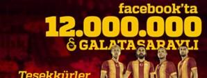 Facebook'ta 12 Milyon Aslan!