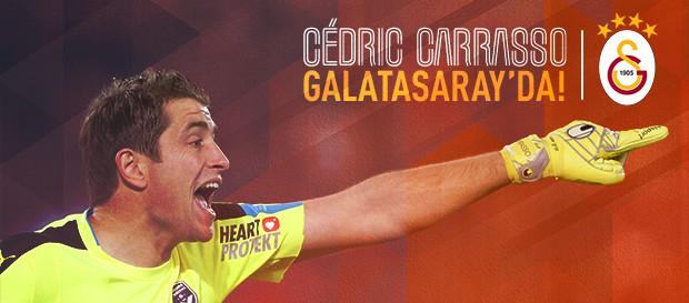 Cedric Carrasso Galatasaray'da