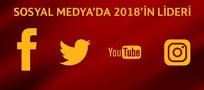 Sosyal Medya'da 2018'in Lideri Galatasaray!