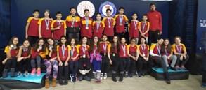 11-12 Yaş Türkiye Şampiyonası'nda dereceler