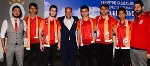 Galatasaray Wolfteam Takımı'ndan müze ve stadyum ziyareti