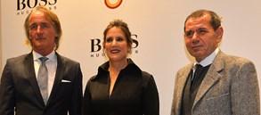 Galatasaray ve Hugo Boss ikinci yılı kutladı