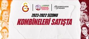 Kadın Basketbol Takımımızın 2021-2022 Sezonu Kombineleri satışta!