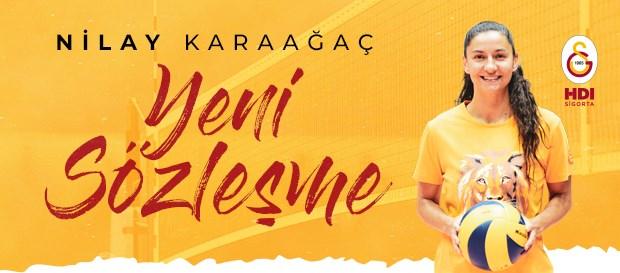 Nilay Karaağaç ile sözleşme yenilendi