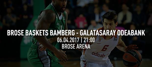 Maça doğru   Brose Baskets Bamberg – Galatasaray Odeabank
