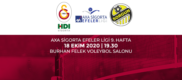 Maça Doğru | Galatasaray HDI Sigorta - Sorgun Belediyesi