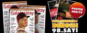 Galatasaray Dergisi 98. Sayısı Bayilerde