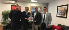 Judo Federasyonu'ndan Başkan Özbek'e ziyaret