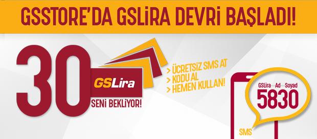 SMS gönder, 30 GSLira kazan!