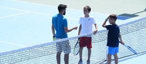 12 Yaş Yaz Kupası 1. Türkiye Tenis Turnuvası başladı