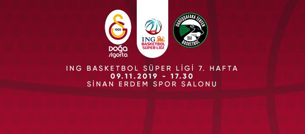 Maça Doğru | Galatasaray Doğa Sigorta - Darüşşafaka Tekfen