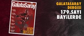 Galatasaray Dergisi'nin 179. Sayısı Bayilerde