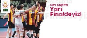 Filenin Aslanları CEV Cup'ta Yarı Finalde!