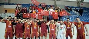 Galatasaray HDI Sigorta 3-0 Sorgun Belediye