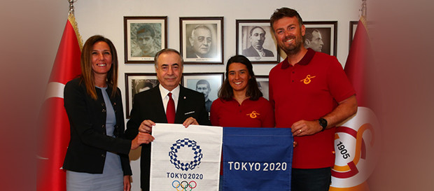 Our chairman hosted national sailor Ecem Güzel