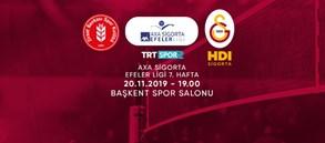 Maça doğru | Ziraat Bankası - Galatasaray HDI Sigorta