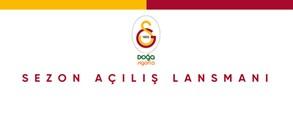 Galatasaray Doğa Sigorta sezon açılış lansmanı
