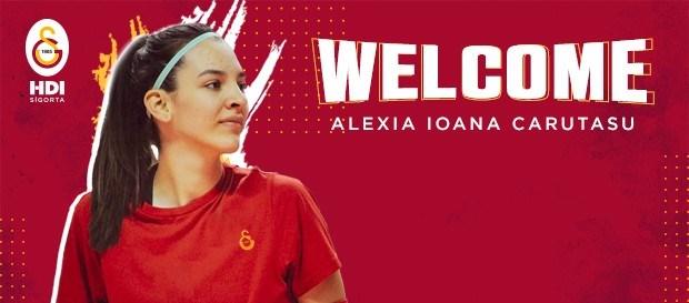 Alexia Ioana Carutasu Galatasaray'da