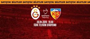 İstikbal Mobilya Kayserispor maçı biletleri satışta