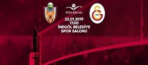 Maça doğru | İnegöl Belediye - Galatasaray