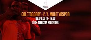 Maça doğru | Galatasaray - Evkur Yeni Malatyaspor