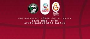 Maça Doğru   Darüşşafaka Tekfen - Galatasaray Doğa Sigorta